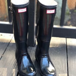 Great Condition Hunter Tall Gloss
